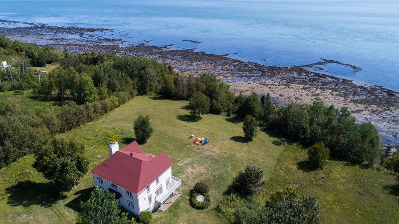 La Villa T , view belvedere, location de vacances à Kamouraska