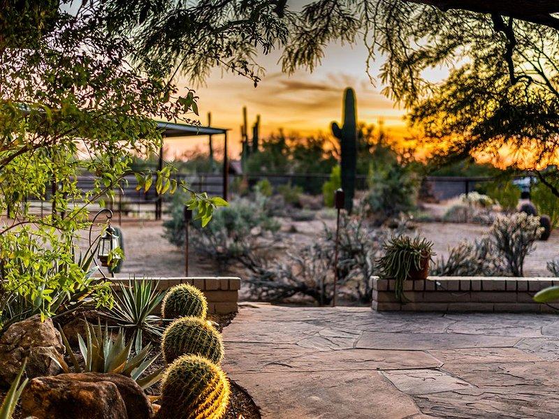 Beautiful Sonoran Desert Property - Dog Friendly, alquiler vacacional en Cave Creek