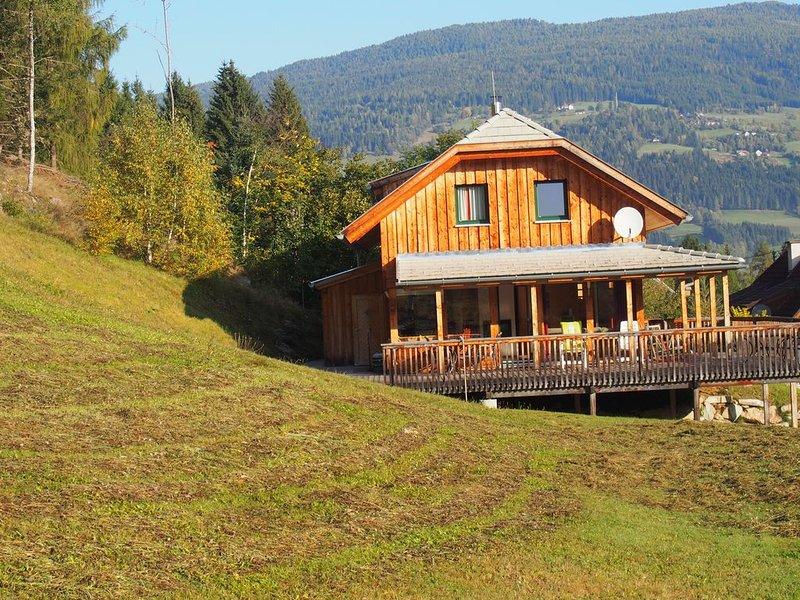 Chalet Sonnalm - schitterend vrijstaand chalet voor 8 personen, holiday rental in Predlitz