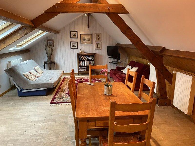 Gite Loft 1 à 6 personnes,( si nécessaire+ chambres), vacation rental in Fontaine-Henry