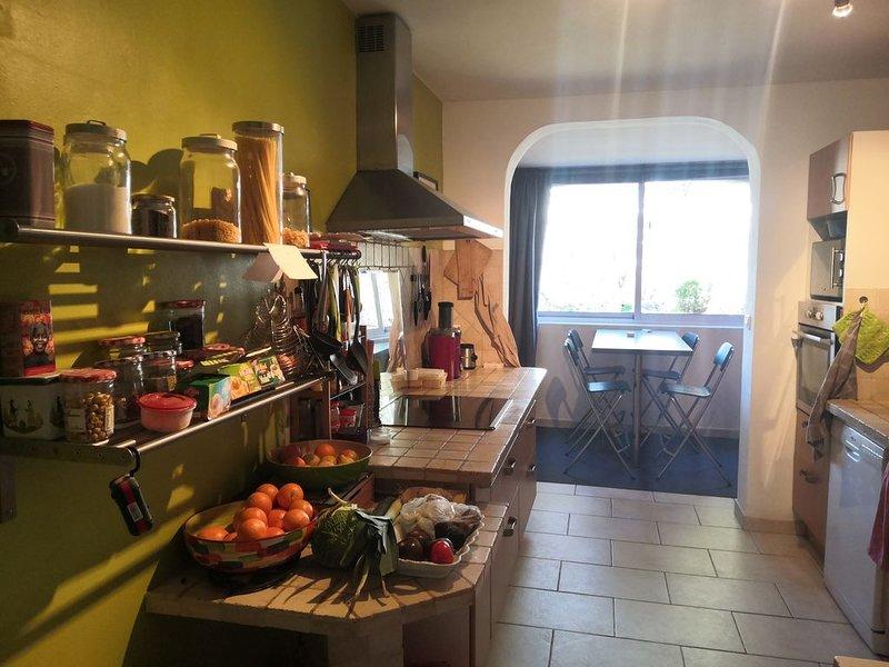 Bel appartement calme et spacieux dans environnement arboré, Aix en Provence, holiday rental in Les Milles