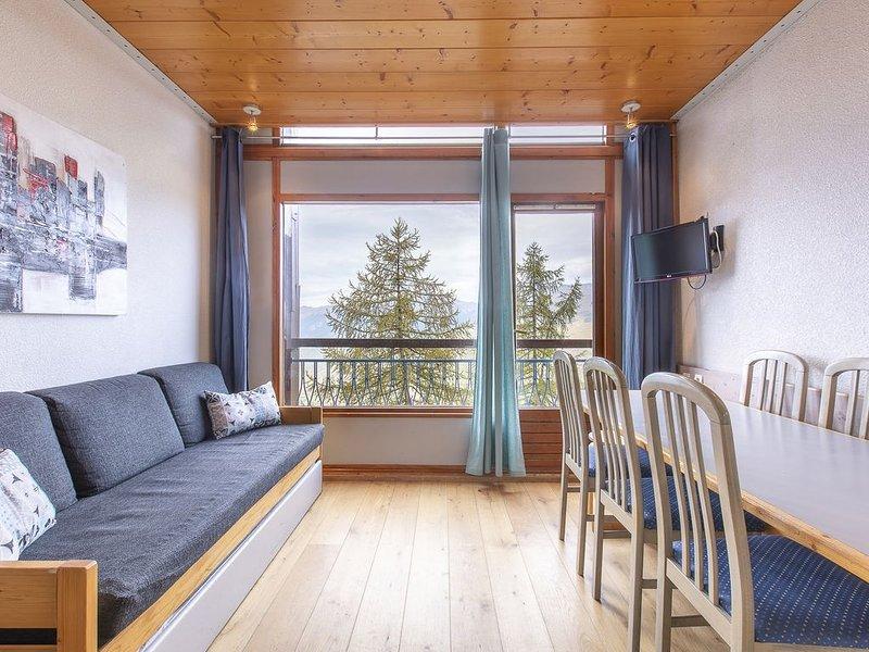 Appartement 8 pers au calme, Arcs 1800 avec vue vallée et au pied des pistes, casa vacanza a Vallandry