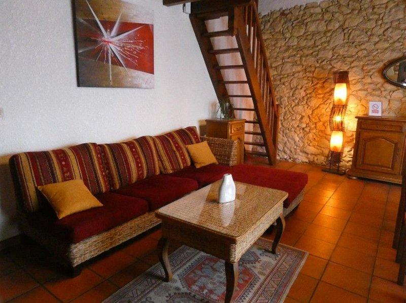 Location idéale vacances et cure Préchacq, holiday rental in Lahosse