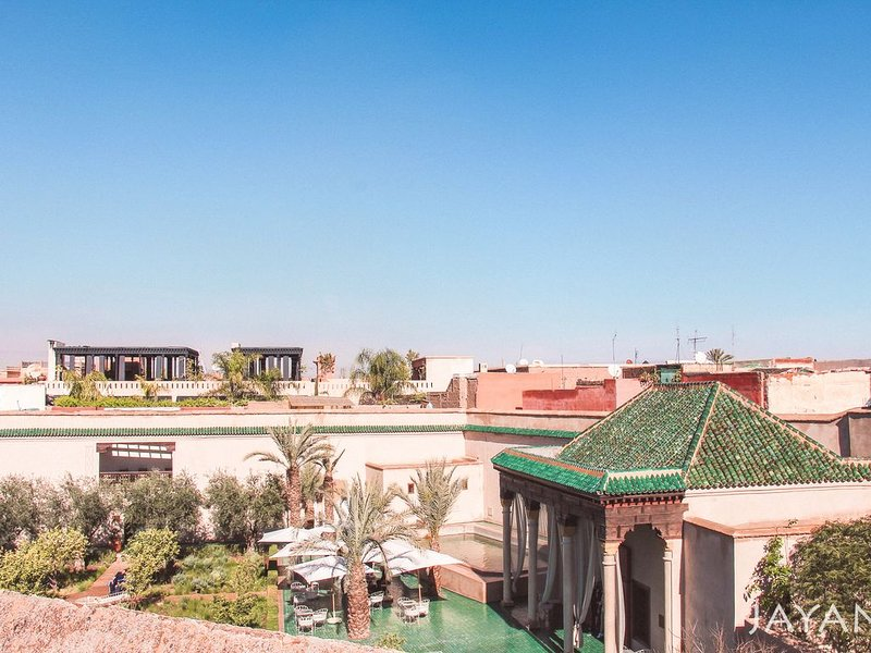 Entire riad dar with view  on 'Le Jardin Secret' in Medina Marrakech, alquiler de vacaciones en Ait Azzi