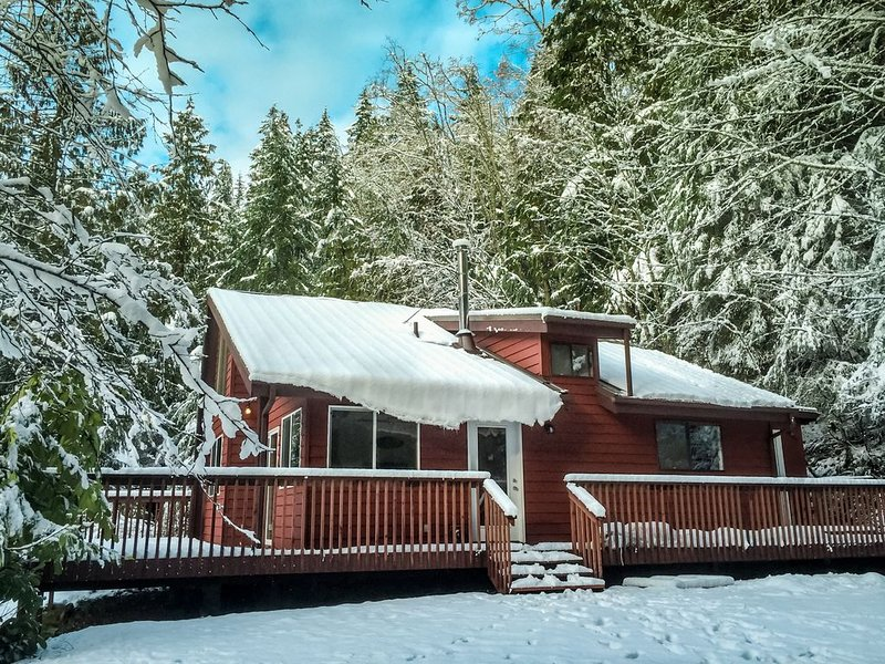 Enchanted Forest Cabin In Majestic Setting - Olympic N. P. On Your Doorstep, alquiler de vacaciones en Port Angeles
