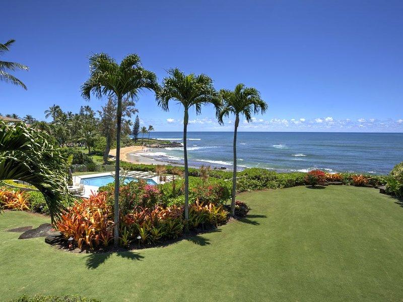 Oceanfront Dreaming Condo at Lanikai Resort, vacation rental in Kapaa