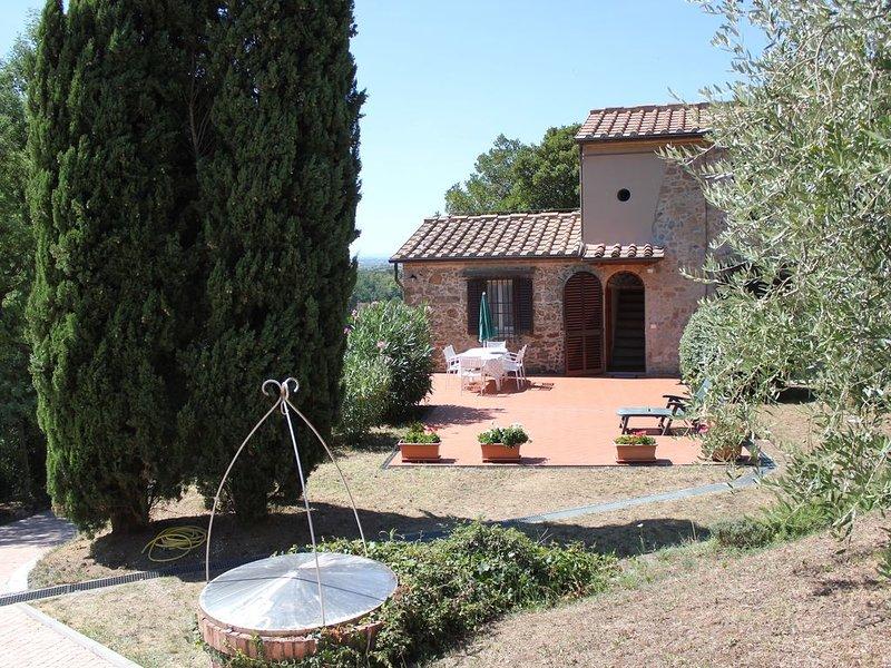 La Casetta di Bufignano tra Vinci e Lamporecchio casa singola giardino privato, Ferienwohnung in Lamporecchio