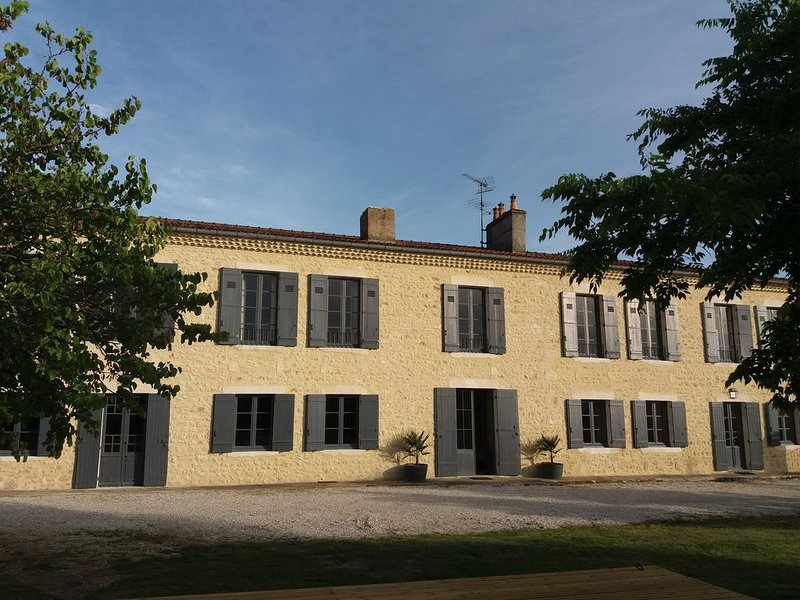 Château La Valière au couer des vignes, holiday rental in Saint Thomas de Conac