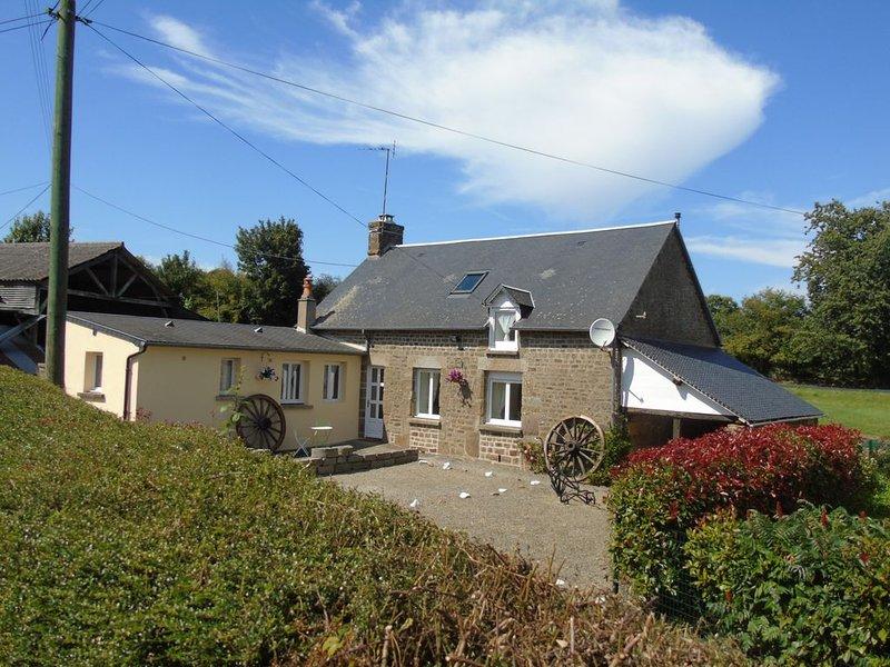 L'Hotellerie Holiday Cottage, location de vacances à Fougerolles-du-Plessis