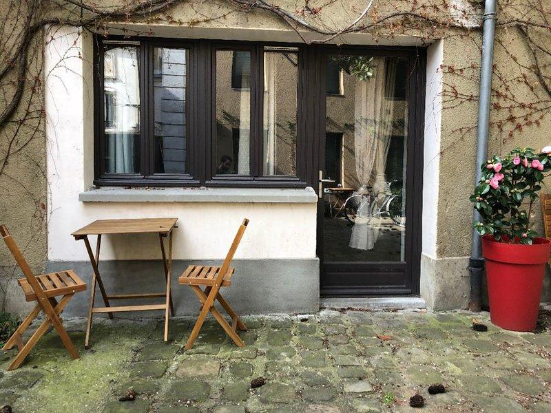 Studio au calme et au vert, holiday rental in Les Lilas