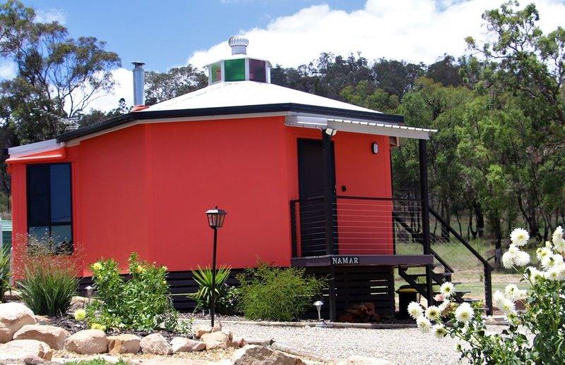 Namar Yurt         ., holiday rental in Liston