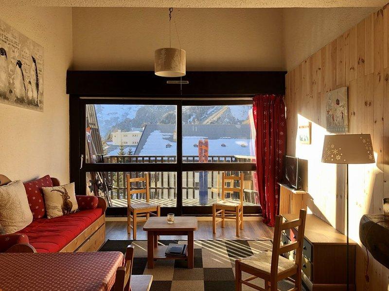 Les 2 alpes, duplex, au pied des pistes, holiday rental in Saint-Christophe-en-Oisans