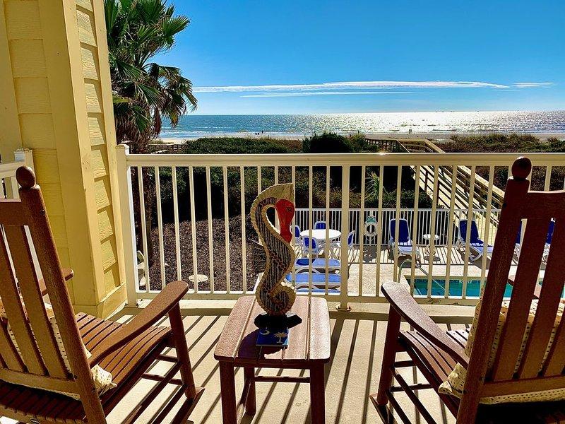 Oceanfront 3BR Condo; 1116 Ocean Blvd, #101 (2nd Condo Available), location de vacances à Isle of Palms