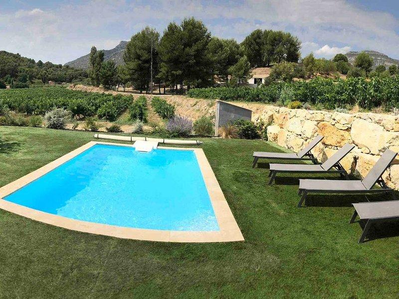 Villa située en plein cœur de la Provence avec piscine privative sur 3 hectares., holiday rental in Roquevaire