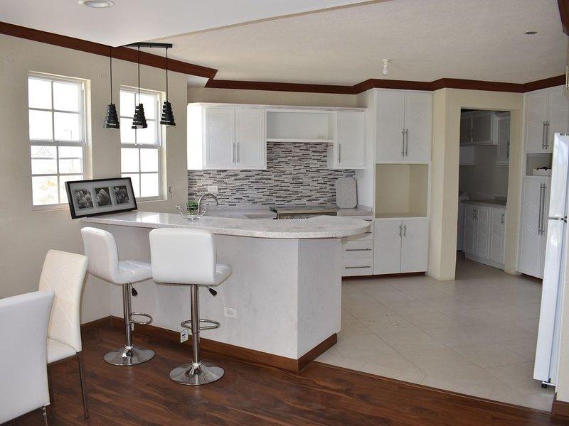 New modern fully equipped 2-bed apartment, location de vacances à Saint George Parish
