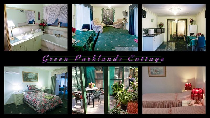 Ballarat Green Parklands - Ballarat spa cottage, alquiler de vacaciones en Ballarat