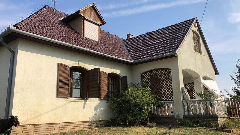 Landelijk logeren in de Baranya, holiday rental in Kozarmisleny
