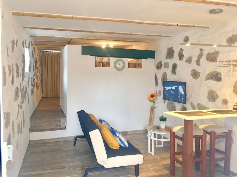 Casa LaFuentita 1 a 5 minutos de la playa de Gran Tarajal, alquiler vacacional en Gran Tarajal