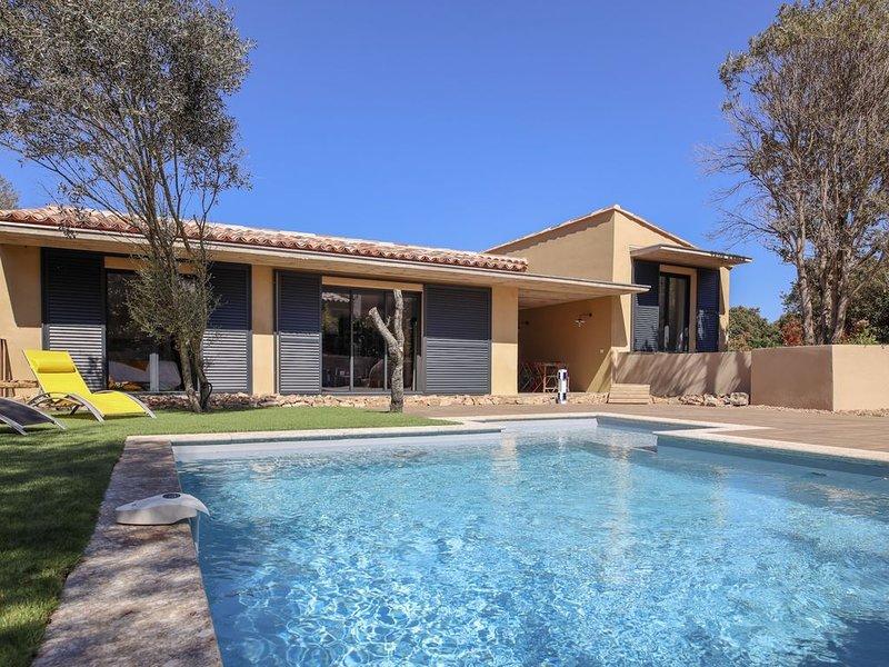 offre : Villa  avec piscine privée 15 au 30/08  7 nuits = 6 facturées!!!, holiday rental in Pianottoli-Caldarello