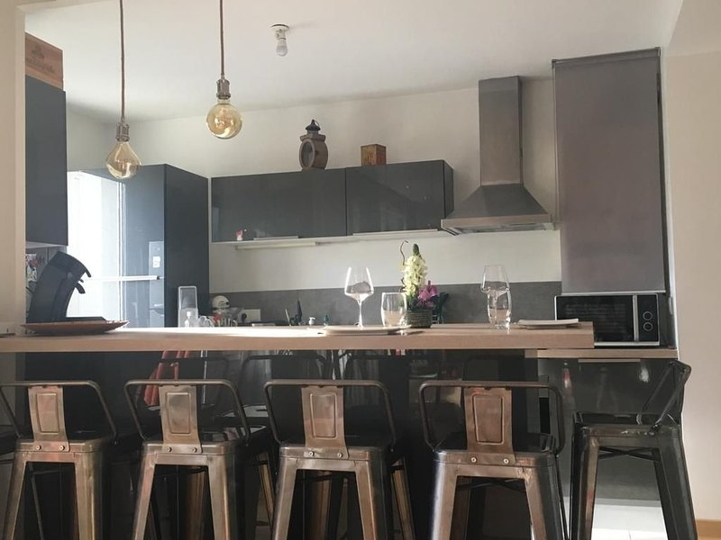 Charmant appartement design & confort à Annecy, holiday rental in Sillingy