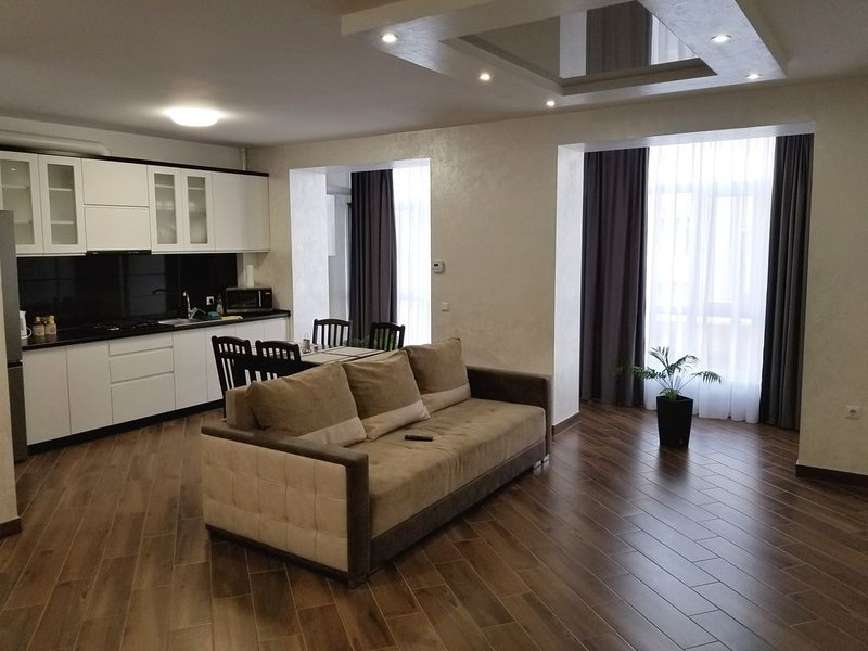 modern apartment in the city center Ivano-Frankivsk, Ukraine, alquiler vacacional en Ivano-Frankivsk