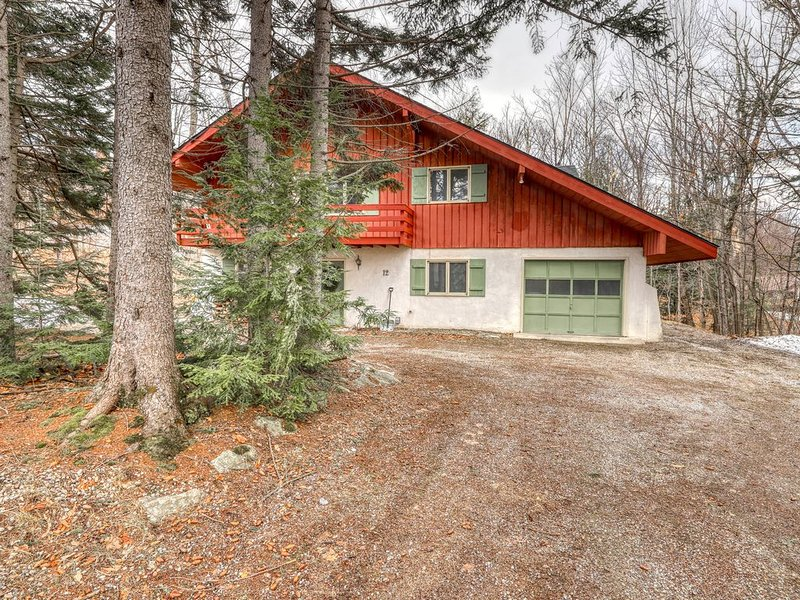 Family-friendly mountain home w/wood-burning fireplace, deck, private gas grill, holiday rental in Bondville