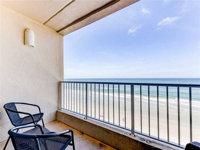 SouthPoint 501, 2 Bedrooms, Beach Front, Heated Pool, Sleeps 5, vacation rental in Ponce Inlet