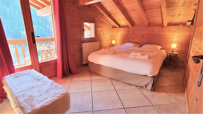 Bienvenue dans notre chalet! Appartament Les Sitelles***, holiday rental in Saint-Jean-de-Sixt