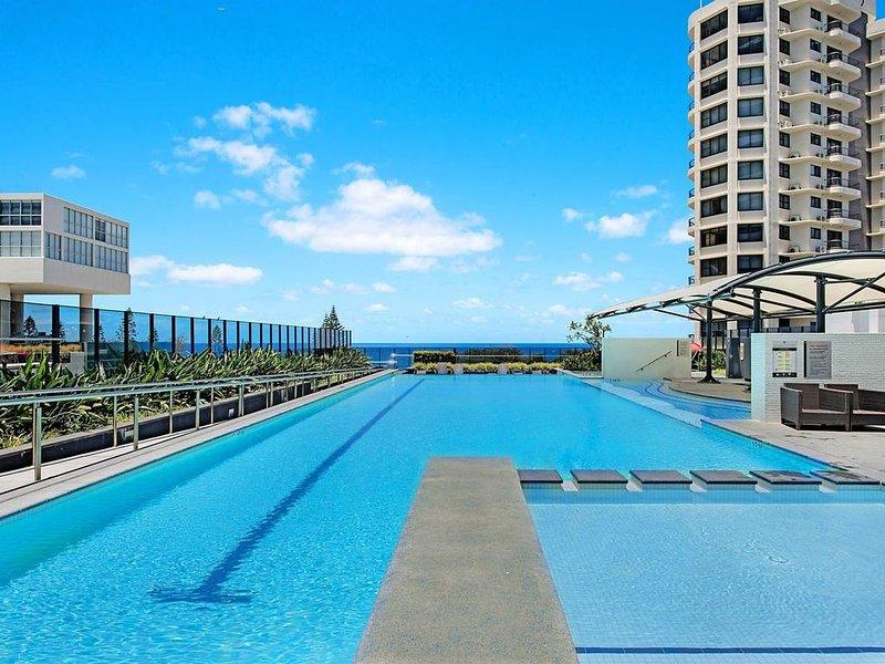 Oracle*Awesome Ocean Views*Free Parking*Wifi*Wine*Netflix, alquiler de vacaciones en Broadbeach