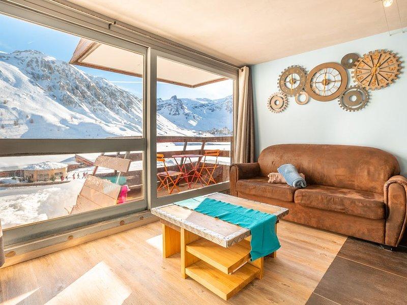 Magnifique appartement en plein centre de Tignes Le LAC, holiday rental in Tignes