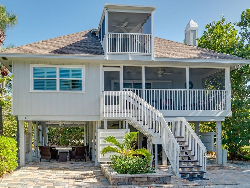 Boca Grande Shores #12     Renovation of beach view home completed December 2019, holiday rental in Boca Grande