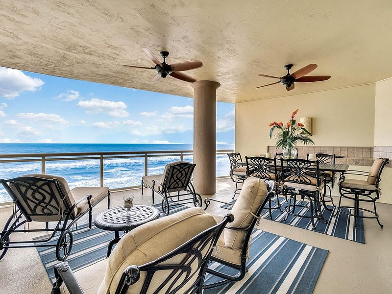 Ultimate Luxury Oceanfront Condo - Newest Building on Beach - 2 Huge Balconies, vacation rental in Daytona Beach