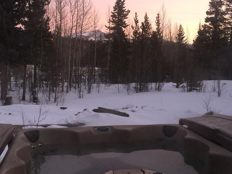 Amazing log cabin, Views, Hot Tub, Fireplace, Decks, private!, casa vacanza a Fairplay