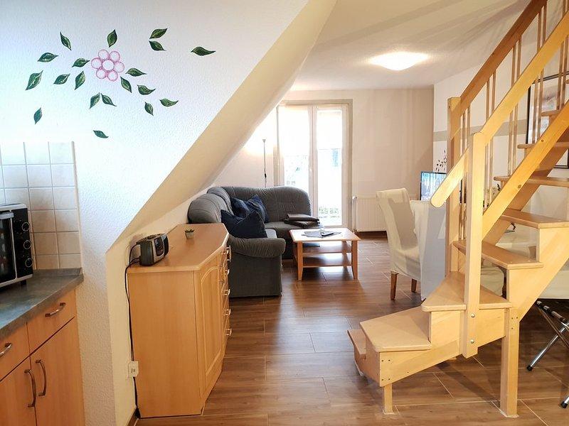 Maisonette-Ferienwohnung für 2-4 Pers. mit Balkon, casa vacanza a Bresewitz