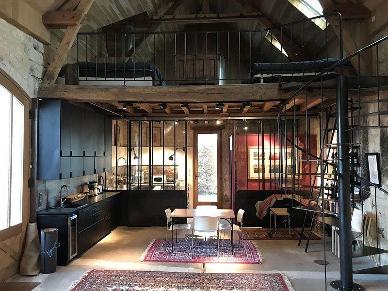 Gite Vigneron - La Cuverie, holiday rental in Rigny-Usse