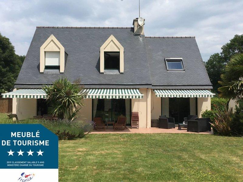 Grande maison familiale, proche des plages, vacation rental in Riec-sur-Belon