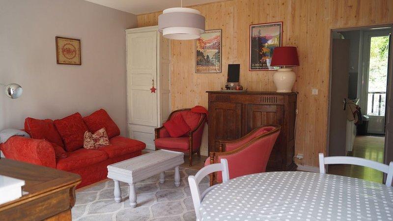 Chaleureux appartement à la montagne en face des thermes à 15 mn des pistes, vacation rental in Luz-Saint-Sauveur