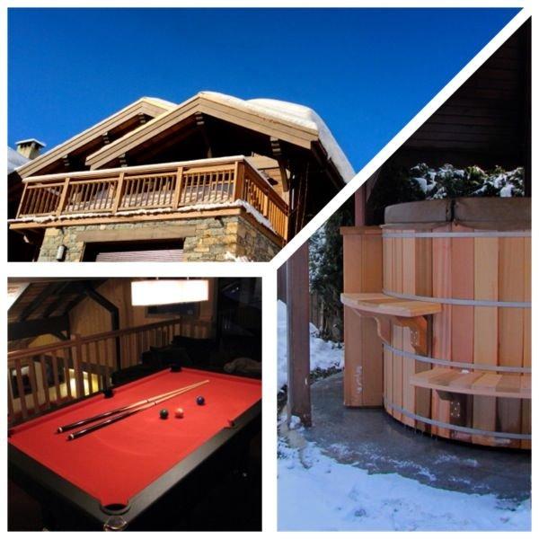 Grand chalet de luxe entièrement rénové, Vallée des Bellevilles,  Saint Martin, holiday rental in Salins-Fontaine