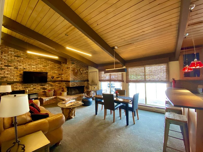 360º Tour! Luxury Riverfront. Top floor. Great light views, pool. New renovation, holiday rental in Aspen