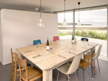 Fabulous eco beach house, direct access to beach and a truly remarkable view, holiday rental in Elie