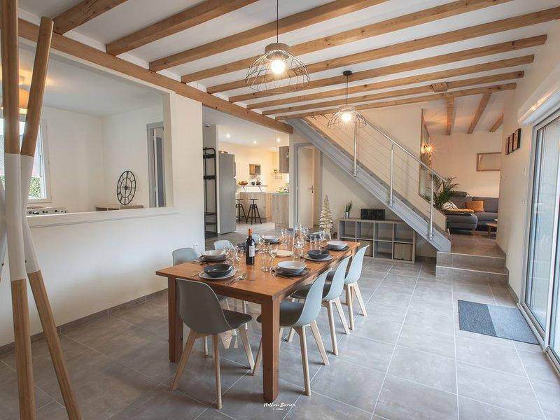 'Gite la soulane' / Maison, 8 pers, Jardin Clos - St Lary Soulan (Vielle-Aure), holiday rental in Gouaux