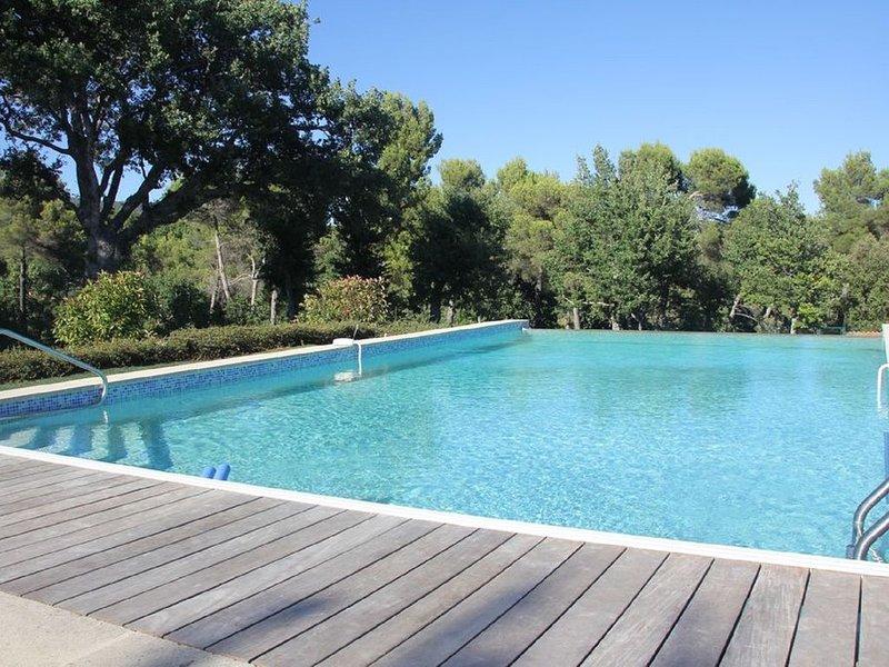 Grand domaine avec piscine privée au pied du luberon, aluguéis de temporada em Saint-Martin-de-la-Brasque