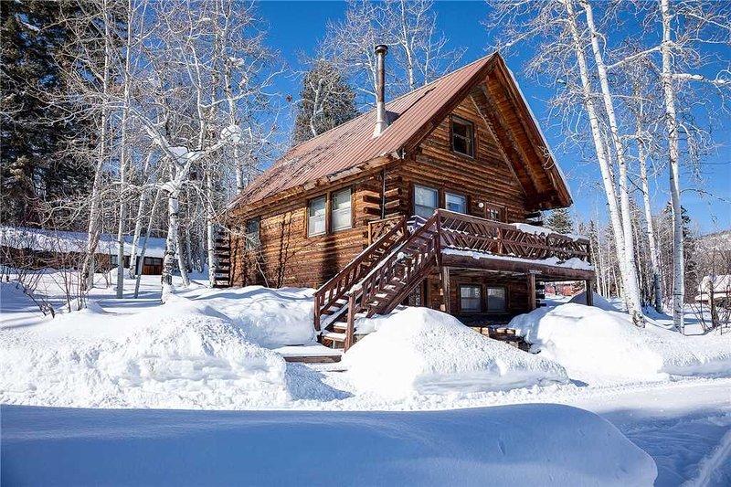 CABCO by Pioneer Ridge: Colorado Cabin! Enjoy a Rustic retreat by Buff Pass, holiday rental in Clark