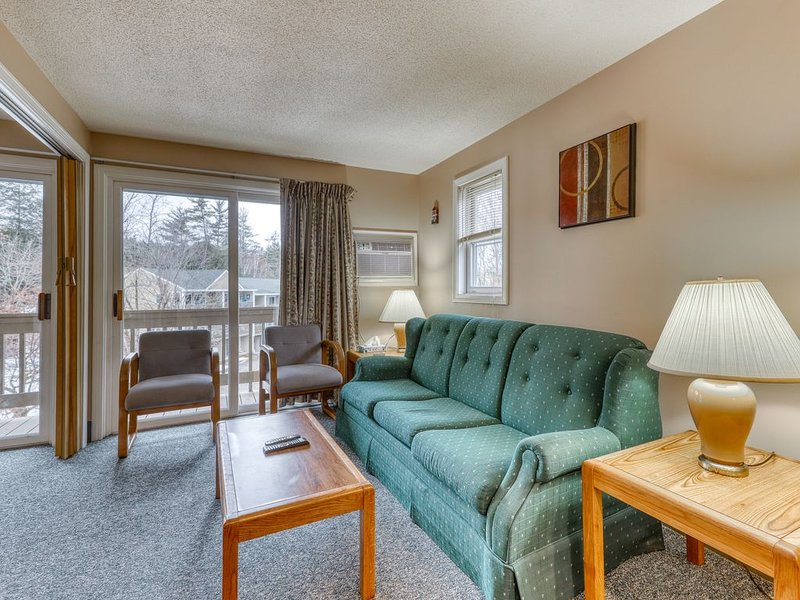 Lakefront condo w/ shared amenities resort, alquiler de vacaciones en Gilford