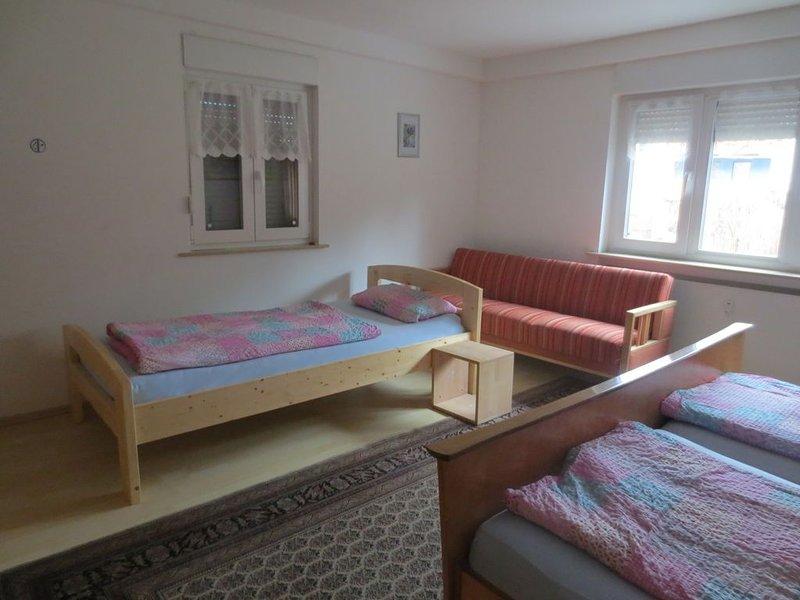 Ferienwohnung im Herzen des Spessarts  (EG), location de vacances à Schollbrunn