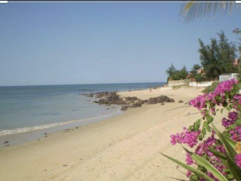 Villa entre plage  piscine jaccuzi et jardin, location de vacances à Ngaparou