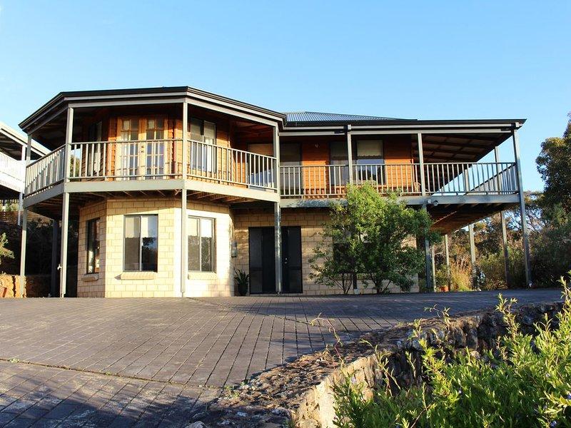 Waterside View has views up and down the Blackwood River - Waterside View - rive, holiday rental in Karridale