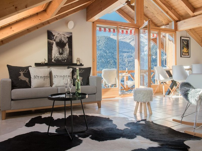 Chalet Rose Penthouse, vacation rental in Lauterbrunnen