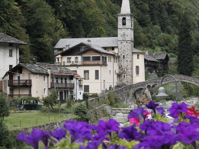 VALLE DI GRESSONEY FONTAINEMORE TRILOCALE SP, holiday rental in Hone