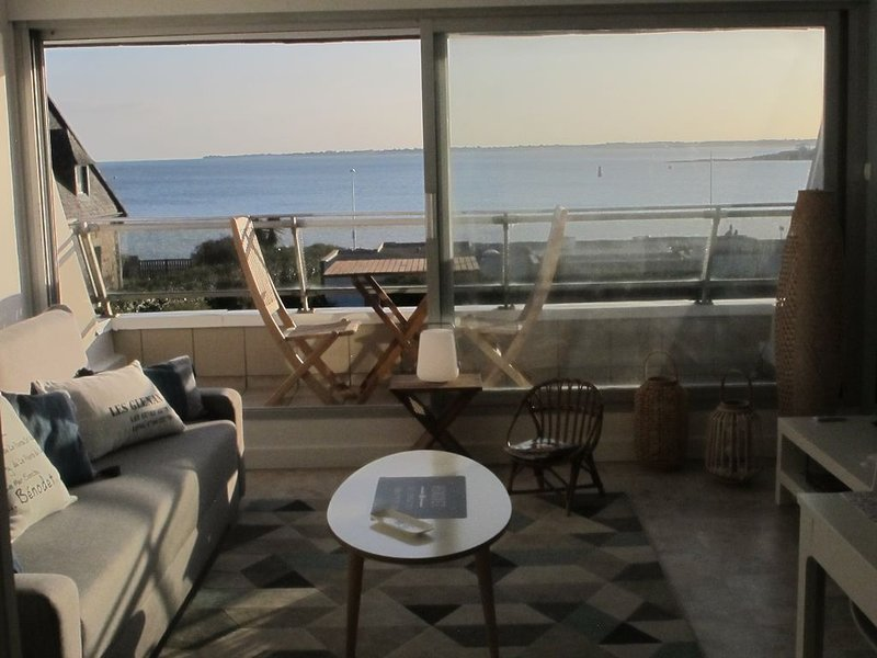 APPARTEMENT 3 ETOILES T2 TOUT CONFORT FACE A LA MER, holiday rental in Benodet